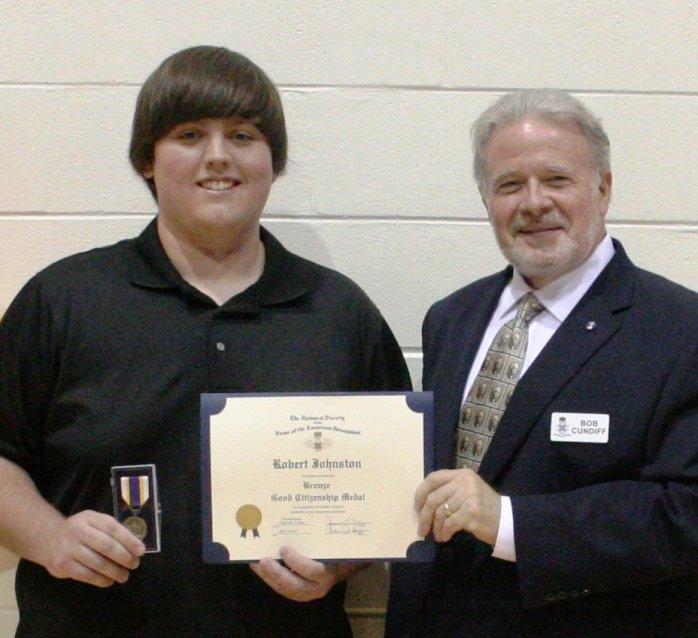 Robert Johnston from Hudson High School
