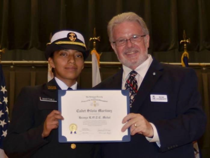 Silvia Martinez-Moran from Pasco High School
