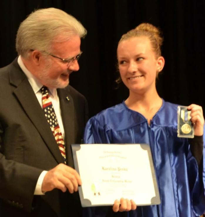 Karolina Peksa from Largo High School