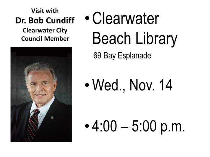 Visit with Clearwater Beach library